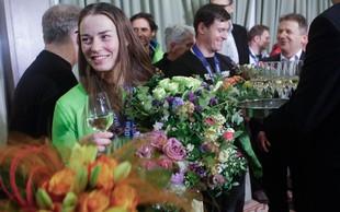 Prisrčen sprejem Tine Maze v Zagrebu