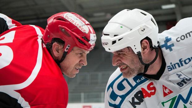 Vabljeni na dobrodelno tekmo legend slovenskega hokeja! (foto: Arhiv Hokejske zveze Slovenije)