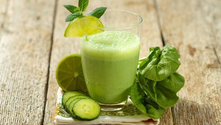 Zeleni smoothie - energija za ves dan (foto: Shutterstock.com)