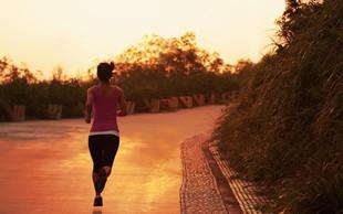 Če tečete zjutraj, boste v dobri formi ves dan