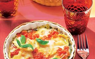 Recept za narastek z ravioli