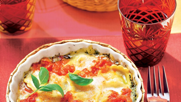 Recept za narastek z ravioli (foto: stockfood photo)