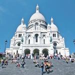 Bazilika Sacré Coeur in njene znamenite stopnice, kjer je odličen razgled na mesto (foto: Fotolia.de)