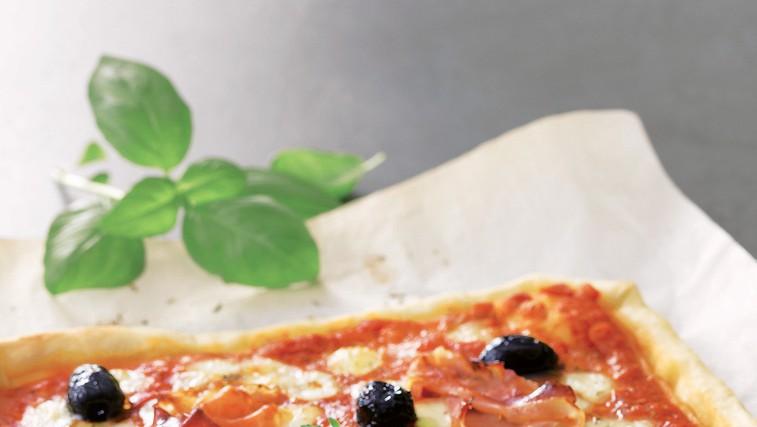 Pica s pršutom (foto: revija Lisa)