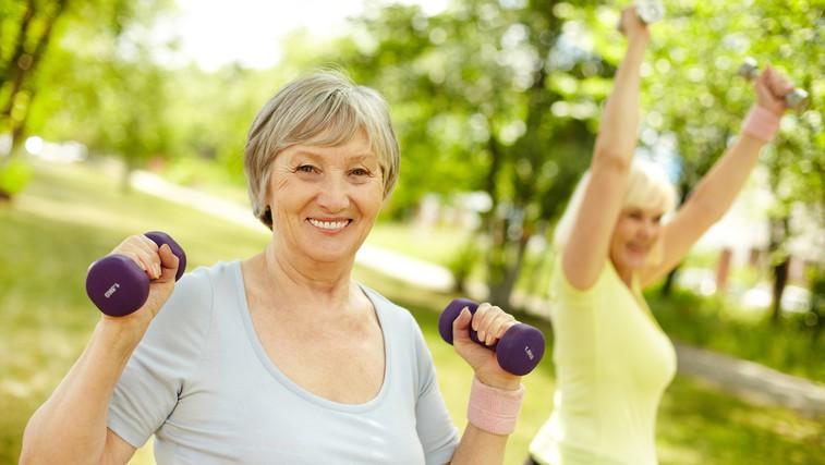 Redna telesna aktivnost veliko pripomore k zdravemu staranju (foto: Shutterstock.com)
