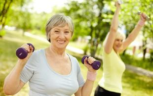 Redna telesna aktivnost veliko pripomore k zdravemu staranju