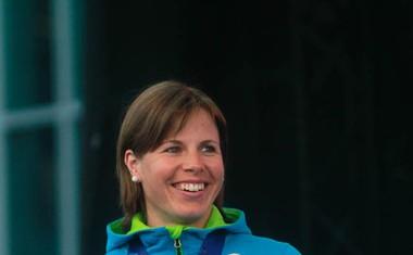 Foto: Druženje z olimpijci