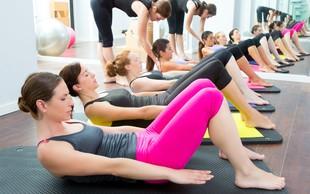 Pridružite se brezplačnim uram shaping pilatesa
