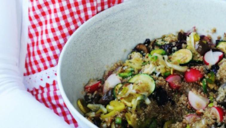 Recept: Kvinojina solata  (foto: Mateja Jordovič Potočnik)