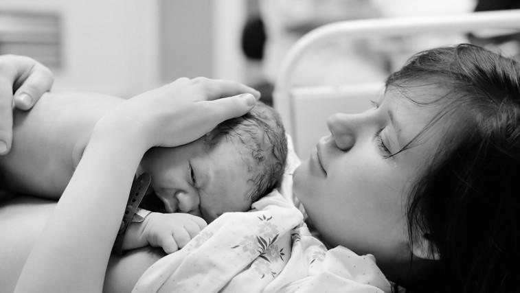 Orgazmični porod – vez med porodom in spolnostjo (foto: Shutterstock.com)
