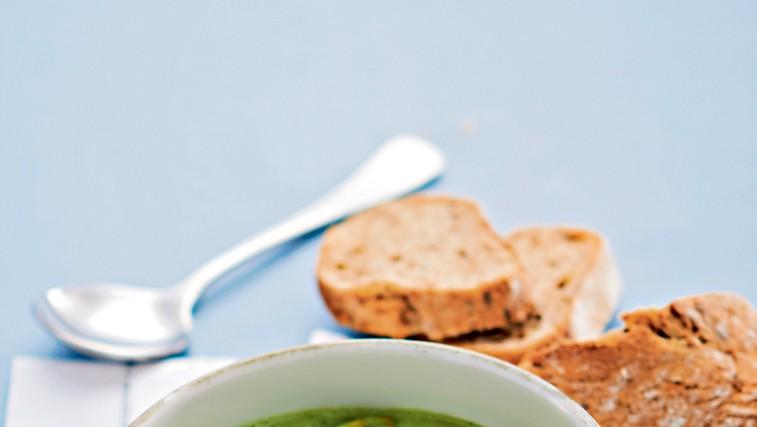 Porova juha z beluši (foto: revija čarovnija okusa)
