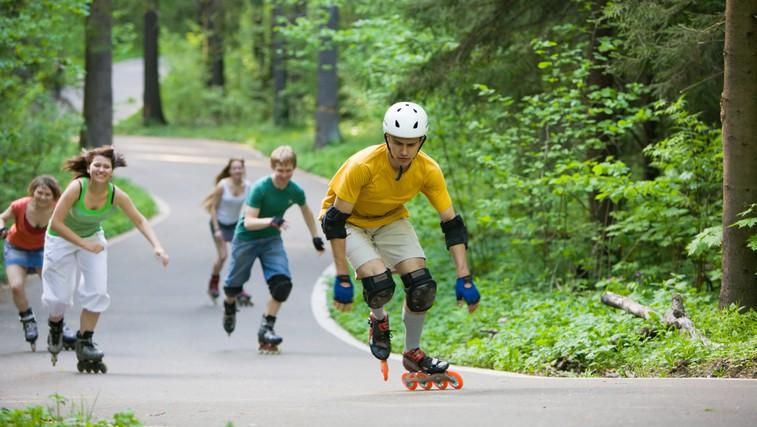Trening na rolerjih – za čvrsto telo (foto: Shutterstock.com)