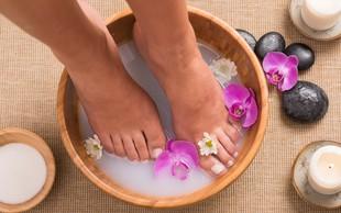 Kopeli za utrujena stopala in preprečevanje prekomernega znojenja