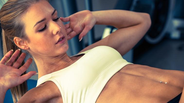 Video: Progresivna vadba za učvrstitev trebušnih mišic (foto: Shutterstock.com)