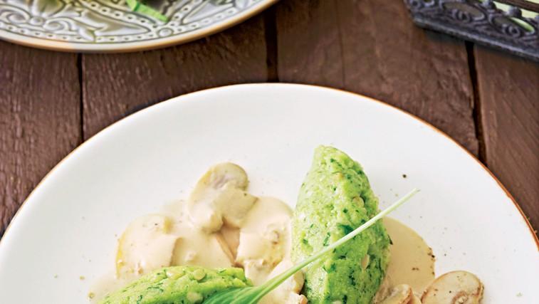 Čemaževi cmoki - slastni in okusni! (foto: stockfood photo)