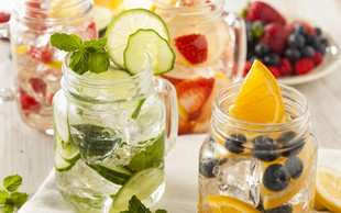 Doma pripravljene vode z okusom - 16 odličnih receptov