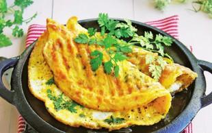 Recept: Zeliščna omleta