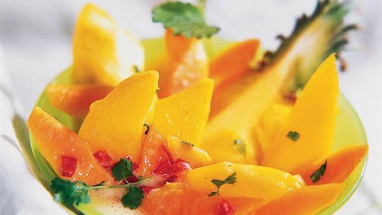 Recept: Poživilo z eksotičnim sadjem (foto: Arhiv   Lisa)