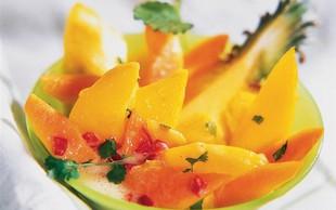 Recept: Poživilo z eksotičnim sadjem