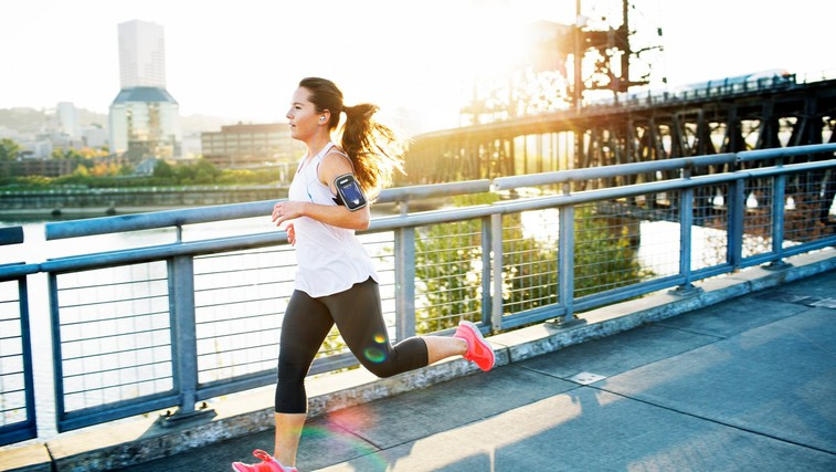 Vpliv teka na zmanjšanje telesne teže (foto: Profimedia)