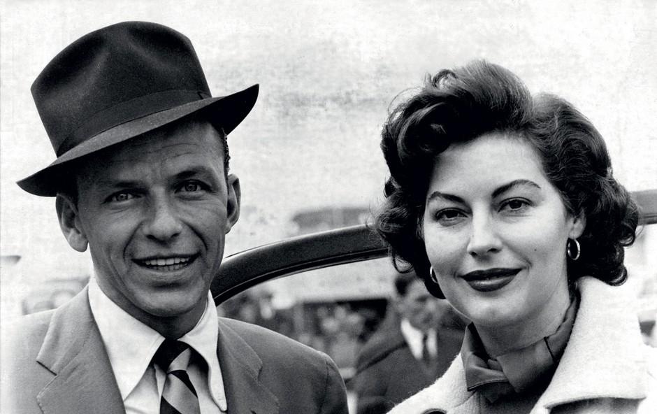 Ljubezenska zgodba: Ave Gardner in Franka Sinatre (foto: profimedia)