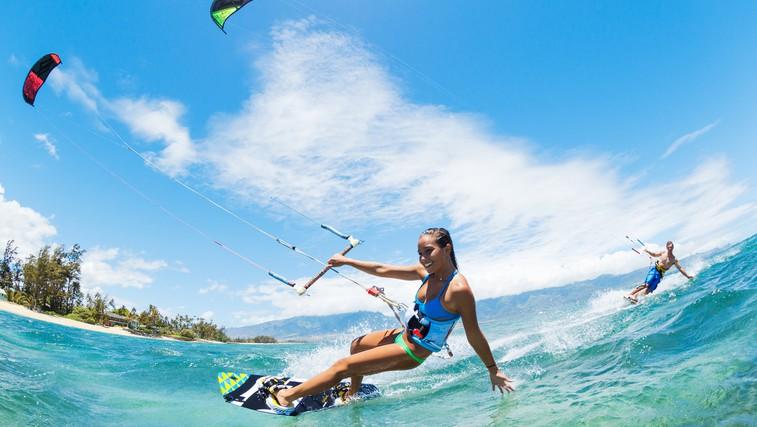 Kajtanje na vodi (foto: Shutterstock.com)