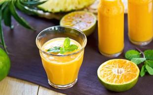 Recept: Tropski energijski napitek