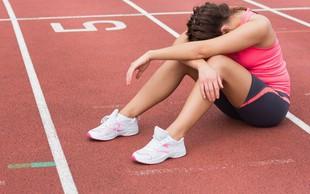 Zakaj začne med vadbo boleti glava