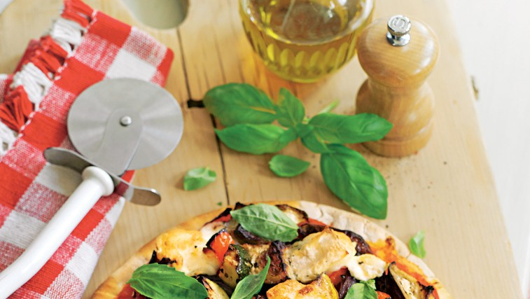 Vegetarijanska pica (foto: stockfood photo)