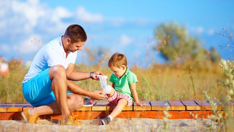 Kako ravnati pri poletnih nezgodah (foto: Shutterstock.com)