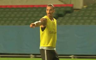 Morate videti ta izjemen gol Zlatana Ibrahimovića