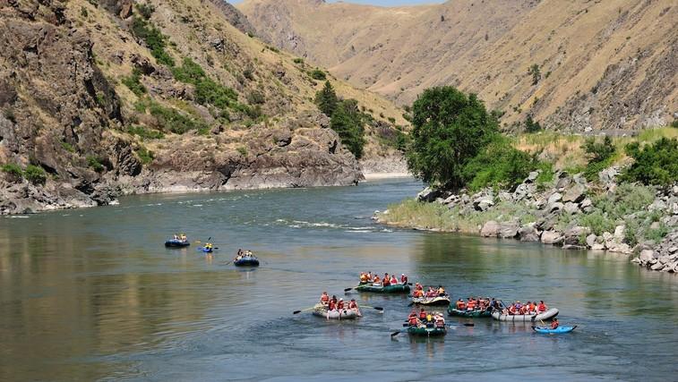 Aktivnosti na mirnih in divjih vodah (foto: Profimedia)