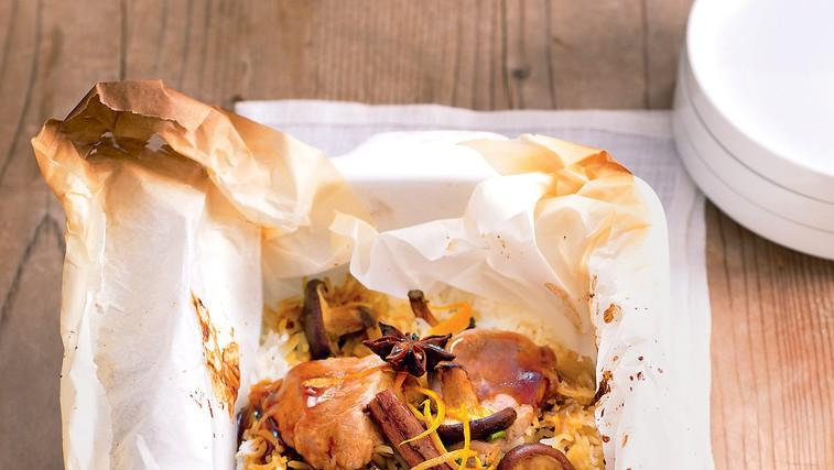 Svinjina po azijsko s gobami šitake (foto: revija Čarovnija Okusa)