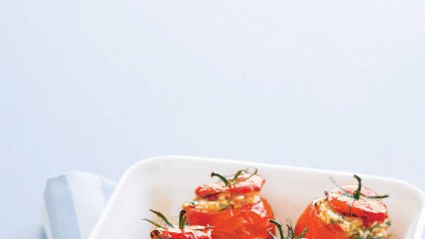 Polnjeni paradižniki (foto: stockfood photo)