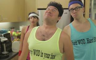 Za stresno razbremenitev uživajte v tej parodiji CrossFita