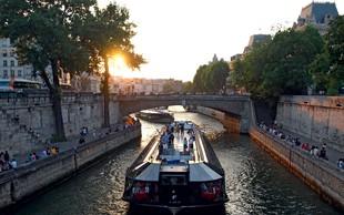Romantični Pariz je eno najbolj obiskanih mest na svetu