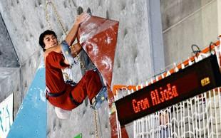 Aljoša Grom: 'V plezanje sem čisto zatrepan'