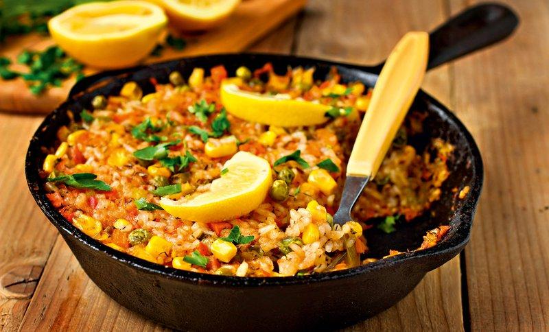 Recept: Kamutova ali riževa paella