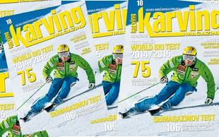 Izšla je velika smučarska priloga Karving magazin