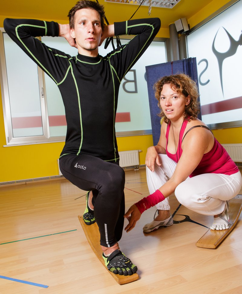 Robert Kranjec, Body tehnika trening