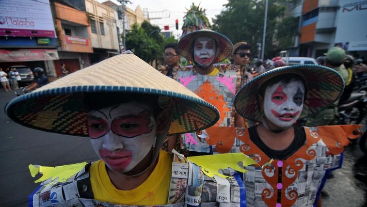Foto: Batik Karneval v Indoneziji (foto: profimedia)