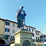 V kraju Greve in Chianti se je rodil pomorščak Giovanni di Verazzanno, ki je med prvimi Evropejci Severno Ameriko. (foto: Tina Lucu)