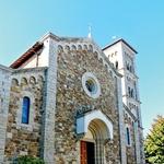 Cerkvica v vasici Casteliina in Chianti (foto: Tina Lucu)