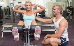 Vadba na trenažerjih ali z lastno telesno težo?