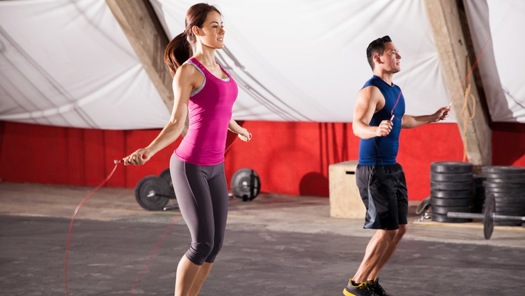 Hitri trening s kolebnico (foto: Shutterstock.com)