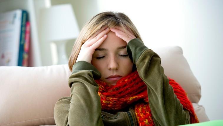 Pomoč iz domače lekarne za vneto grlo (foto: Profimedia)