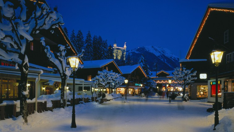 Gstaad, Švica (foto: Profimedia)