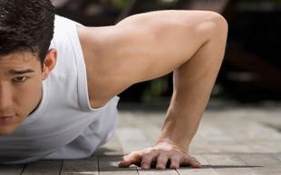 Trening za močne roke in čvrsto jedro