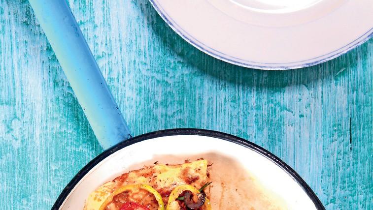 Fritata z mletim mesom in zelenjavo (foto: revija Čarovnija Okusa)