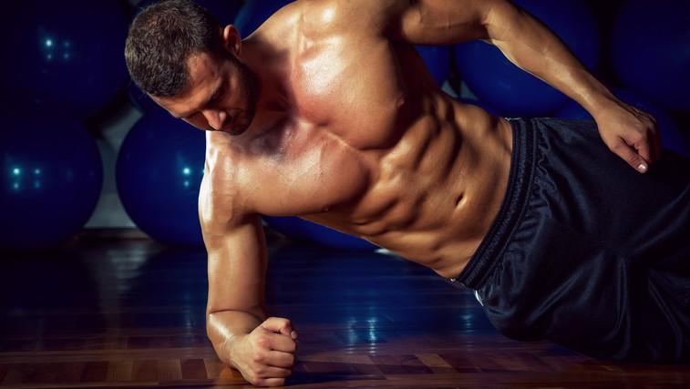 Krepitev trebušnih mišic brez enega samega giba (foto: Shutterstock.com)
